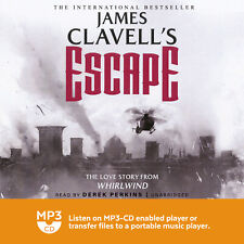 James Clavell / Escape / Audio Book on 2 x MP3's