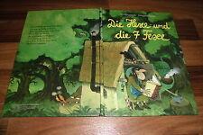 Irmgard Hailer + Ali Mitgutsch -- die HEXE und die 7 FEXE // Bilderbuch von 1985
