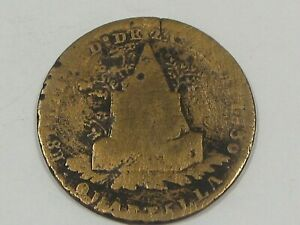 1830 ¼ Reale Mexico.  #34