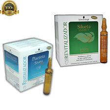 Schwarzkopf Placenta Silueta Locion Capilar Revitalizador - 12 Ampollas X 15 ml