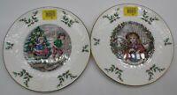 Royal Doulton Christmas Collector Plates ##BELB90