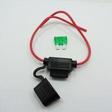 12 V Piggy Back Lame Porte-fusible avec fusible Amp par choix Van Bateau à moteur voiture