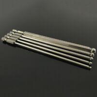 5 Tlg Magnetisch Triangle Head Schraubendreher Bits S2 Steel 1//4 Hex Schaft 50mm