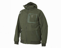 New Fox 2019 Collection Green Silver Shell Hoodie Jacket All sizes Carp Fishing