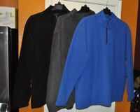 New ~ Men's Foundry 1/4 Zip Pull Over Fleece Long Sleeve Jacket Reg & Big @ Tall