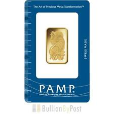 PAMP 1/2oz Gold Bar Minted