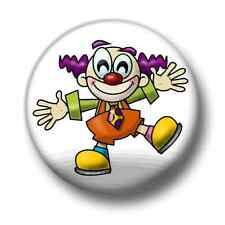Clown 1 Inch / 25mm Pin Button Badge Clowns Circus Emo Goth Indie Horror Funny