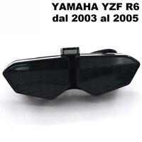 Faro LED fanale posteriore fume stop indicatori direzionali frecce Yamaha YZF R6