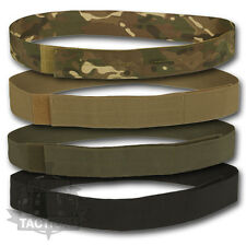 MILITARY PCS TYPE BELT GREEN BLACK MTP MULTICAM SAND DESERT VEL HOOK & LOOP CRO