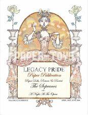 Reprint Legacy Pride Vol. 2 No. 3 - Donald Hendricks Paper Dolls - Opera