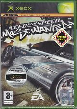 Xbox NFS - NEED FOR SPEED - MOST WANTED nuovo sigillato italiano 2005