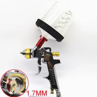 Mini HVLP Air Spray Gun Auto Paint Car Detail Touch Up Repair Tool 1.7MM Nozzle