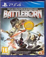 Battleborn [PlayStation 4 PS4, Region Free, English, Online Multiplayer FPS] NEW