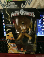 Mighty Morphin Power Rangers Legacy Collection Yellow Ranger Metallic 2018