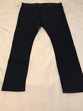 Bnwt Mens Blue M&S Slim Denim Jeans 44/33 Worth £35