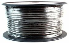 Audiopipe 248' 10 GA BLACK  POWER WIRE P0WC-10 GROUND CABLE CAR AUDIO AMP