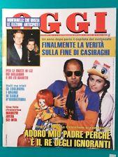 OGGI 1991 n41 rivista Michael jackson casiraghi monroe orologi Swatch cuccarini