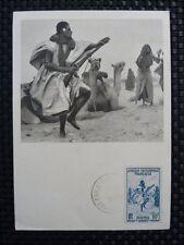 Mauritanie Mk 1952 kamel Camel maximum tarjeta Carte maximum card mc cm a8086