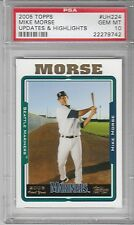 2005 Topps Updates & Highlights Mike (Michael) Morse #UH224 [Rookie] PSA 10