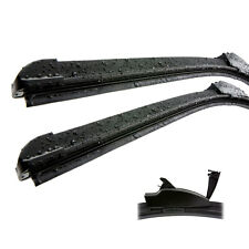 Peugeot 3008 Front Aero Flat Window Car Wiper Blades Genuine ID13541