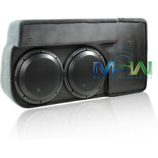 JL AUDIO SB-GM-SLVCC/10W3v3/DG STEALTHBOX® CHEVY SILVERADO GMC SIERRA 07+ #94360