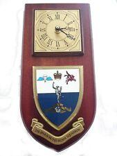 216 Parachute Signal Squadron Military Shield Wall Plaque Clock