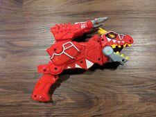 BAN DAI Power Rangers Dino T-Rex Super Charge Morpher Figure Gun Shooter Super