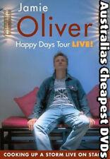 Jamie Oliver - Happy Days Tour DVD NEW, FREE POSTAGE WITHIN AUSTRALIA REGION 0