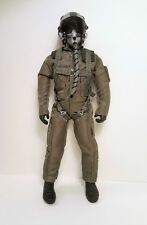 1/4.5 ~ 1/4 Scale US Air Force / Navy Pilot Figure w/ Servo Operated Head