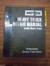 1977-1989 MOTOR HEAVY TRUCK SERVICE~REPAIR Manual~DIESEL~FORD~MACK~ISUZU~VOLVO