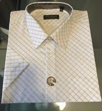 BB Mens Chardanay Designer Formal Wedding Work Shirts - Size 46  2XL