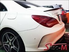 696 Black Tail Trunk Lip Spoiler for 2013+ C117 CLA180 CLA200 CLA250 CLA45 AMG