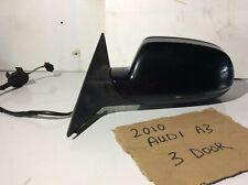 2010 AUDI A3 3 DOOR LEFT PASSENGER SIDE WING MIRROR
