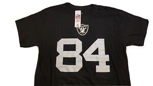 Oakland Raiders Antonio Brown #84 Fanatics Shirt Sz Large