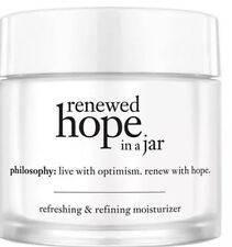 New Philosophy Renewed Hope in A Jar Full Size 2oz Moisturizer $47 Anti Age
