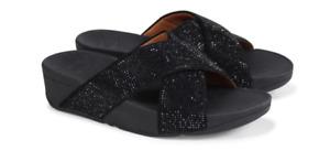 Fitflop Ritzy Slide Black Sandal Women's US sizes 5-11/NEW!!!