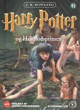 2 MP3 CD Harry Potter DÄNISCH Hörbuch - Og Halvblodsprinsen, NEU
