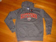 KUTZTOWN University GOLDEN BEARS Hooded EMBROIDERED Sweatshirt NEW...  LARGE