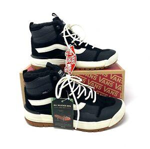 VANS Ultrarange Exo Hi Mte Croc Black Suede Leather Women's Sneakers  VN0A4UWJ2W