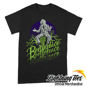Beetlejuice Official Faded Horror Movie T-Shirt