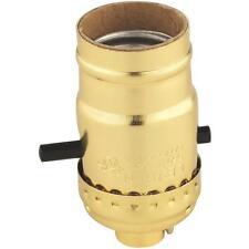 100 Pk Leviton Push-Thru Cord 660W Light Bulb Lamp Socket 053-06093-0PG