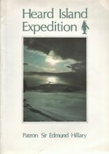 Meg Thornton (ed.) HEARD ISLAND EXPEDITION 1983 1st Ed. SC Book