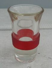 Vintage Shot Glass Blade Runner Red Bands Rick Deckard Sleeping 4 Mid Century