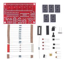 1hz 50mhz Frequency Counter Tester Meter Digital Led Diy Kit 5 Resolution
