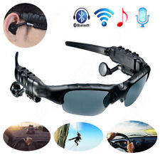Wireless Bluetooth4.1 Stereo Sunglasses Sports Riding Headphones Glasses Headset