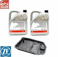 NEW BMW 10 Liters Automatic Transmission Fluid ATF & Oil Pan with Filter Kit