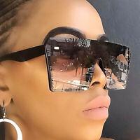 New2020 Oversized Square Sunglasses Women Driving Outdoor Glasses Eyewear UV400