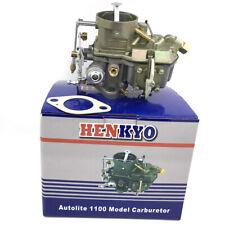 "Autolite 1100 Carburetor Manual Choke 144"" 2.4L 170"" 2.8L 200"" 3.3L 6 cyl Engine"