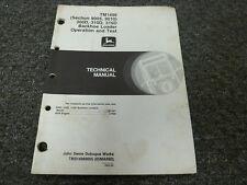 John Deere 300D 310D 315D Backhoe Loader 9005 9010 Service Repair Manual TM1496
