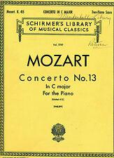 12 in A K.414 Piano Duet Piano NEW 050261210 Concerto No